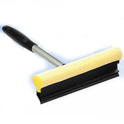 Window Squeegee with Aluminum Handle